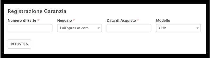 registrazione-garanzia-form